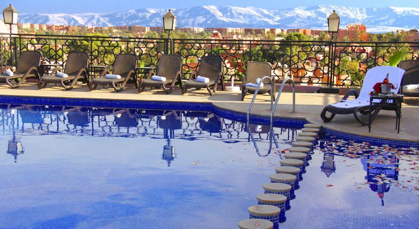 hotel imperial plaza 4* Marrakech : profitiez d'une nuit en chambre double avec  petit -déjeuner au Swiss International Imperial Plaza marrakech 4* Seulement à 613   dh !!!!